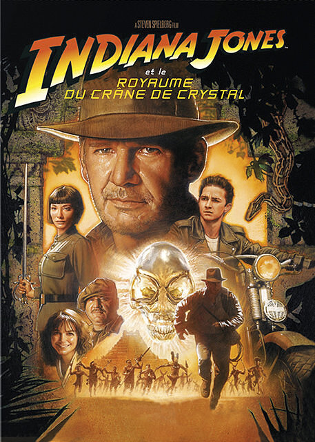 Indiana jones et le royaume du crâne de crystal Vol. 04 = Indiana Jones and the Kingdom of the Crystal Skull / Steven Spielberg, réal.   Spielberg, Steven (1946-....). Réalisateur