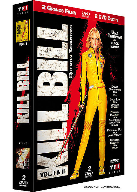 Kill Bill Vol 01 / Quentin Tarantino, réal. | Tarantino, Quentin (1963-....). Réalisateur. Antécédent bibliographique. Scénariste