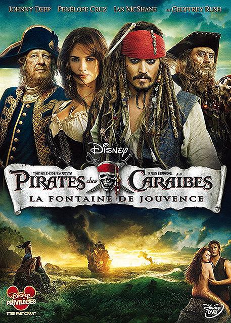 Pirates des Caraïbes 4 = Pirates of the Caribbean: On Stranger Tides : La fontaine de Jouvence / Rob Marshall, réal. | Marshall, Rob. Réalisateur