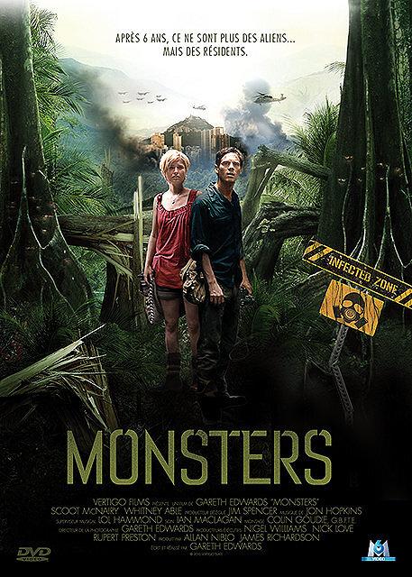 Monsters / Gareth Edwards, réal., scénario | Edwards, Gareth. Réalisateur. Scénariste