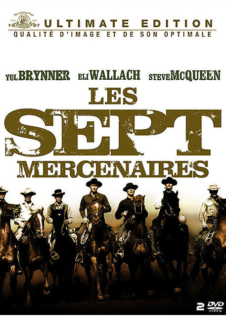 Les sept mercenaires = The Magnificent Seven / John Sturges, réal. | Sturges, John. Réalisateur