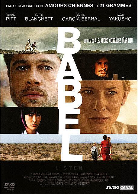 Babel / Alejandro Gonzalez Inarritu, réal., scénario, adapt. | Gonzalez Inarritu, Alejandro. Réalisateur. Antécédent bibliographique