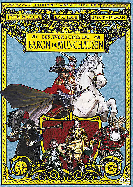 Les aventures du Baron de Munchausen = The Adventures of Baron Munchausen / Terry Gilliam, réal., scénario   Gilliam, Terry (1940-....). Réalisateur. Scénariste